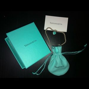 Tiffany Blue Heart Bracelet